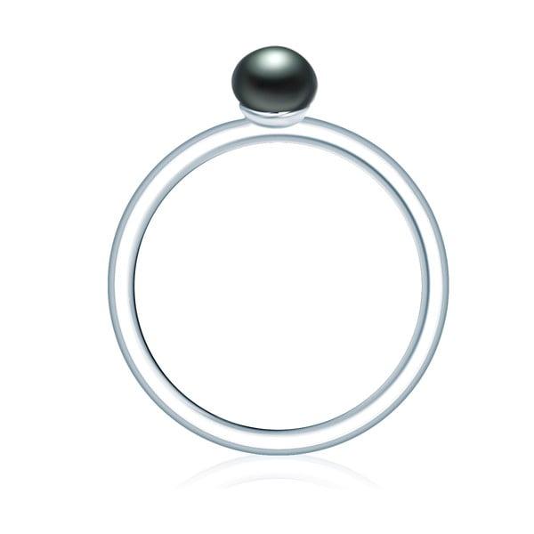 Prsteň s perlou Nova Pearls Copenhagen Nila, veľ. 52