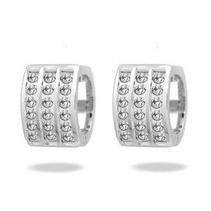 Náušnice so Swarovski Elements Saint Francis Crystals Stone Crystal