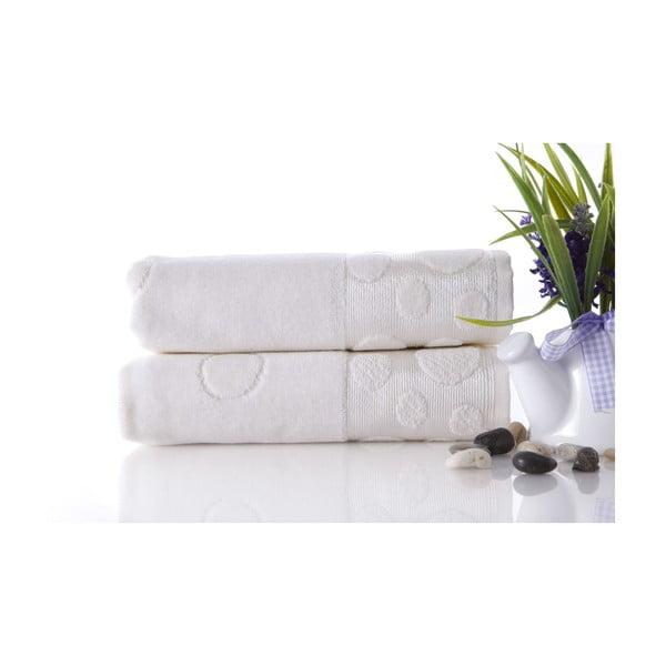 Set dvoch uterákov Tropical Ecru, 50x90 cm