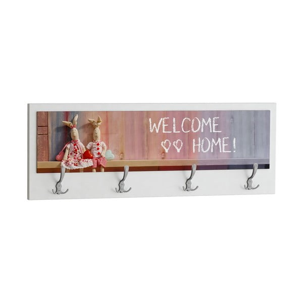 Vešiak Welcome Home White