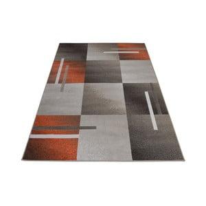 Hnedo-sivý  koberec Webtappeti Modern, 140 x 200 cm