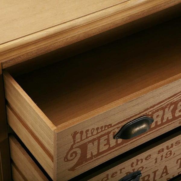 Drevená komoda s 3 zásuvkami Versa Riano