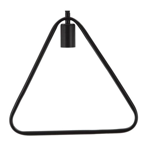 Stropné svietidlo Mauro Ferretti Triangle Nero