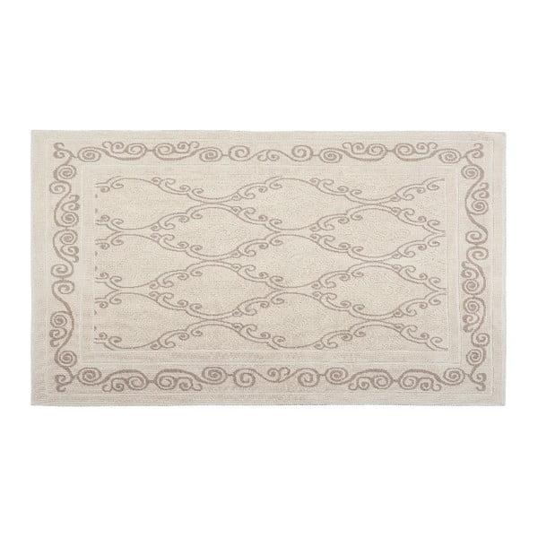 Bavlnený koberec Gina 100x200 cm, krémový