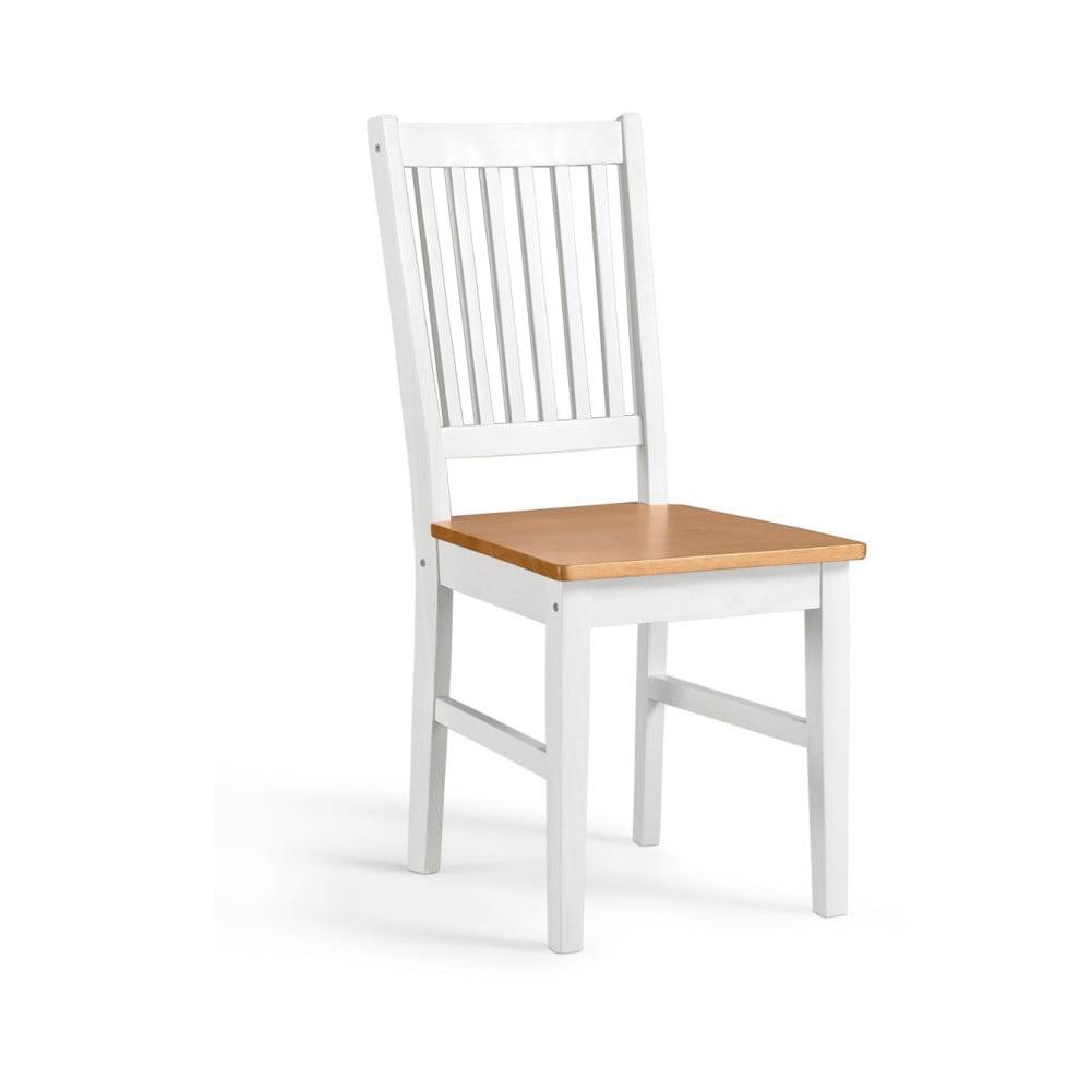 Sada 2 bielych stoličiek z borovicového masívu Støraa DaisyStørra Daisy