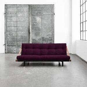 Variabilná pohovka Karup Jump Black/Purple Plum