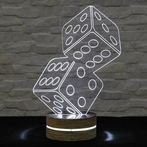 3D stolová lampa Game