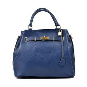 Modrá kožená kabelka Isabella Rhea Mahno