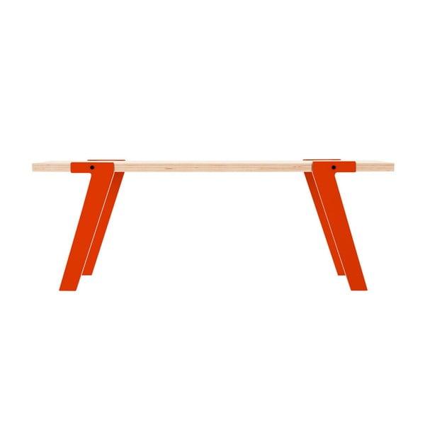 Oranžová lavica na sedenie rform Switch05