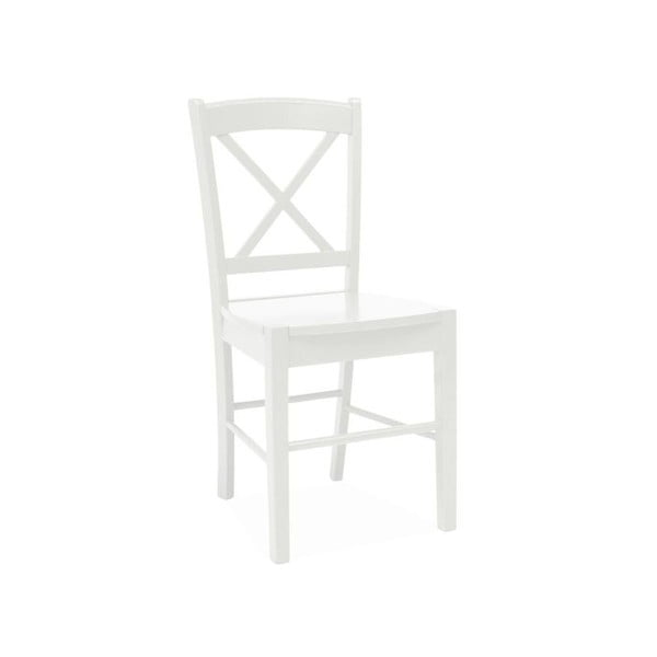 Jedálenská stolička Signal Biale