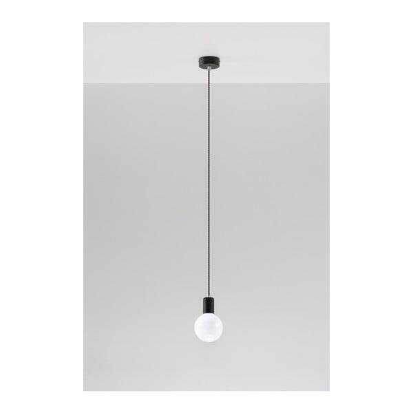 Čiernobiele stropné svetlo Nice Lamps Bombilla