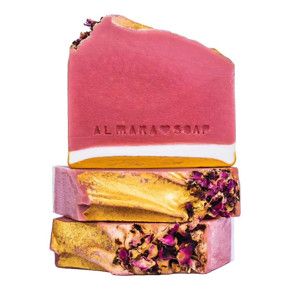 Ručne vyrábané mydlo Almara Soap Ružový grep