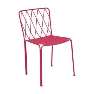 Ružová záhradná stolička Fermob Kintbury