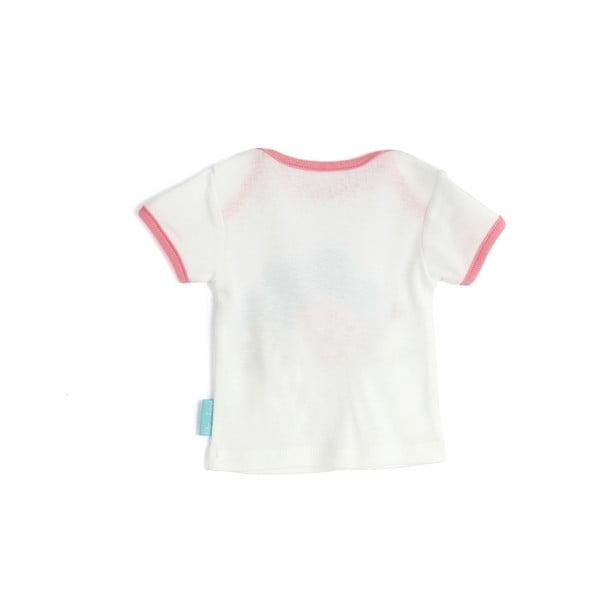 Detské tričko Little Birds s krátkym rukávom, veľ. 3 až 6 mesiacov