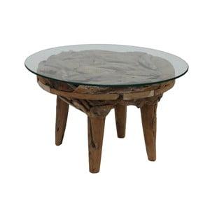 Konferenčný stolík z teakového dreva HSM Collection Foe