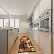 Vysokoodolný kuchynský behúň Webtappeti Semi, 60×220cm