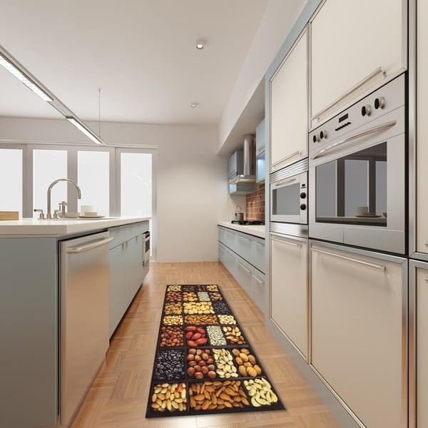 Vysokoodolný kuchynský koberec Semi, 60x110 cm