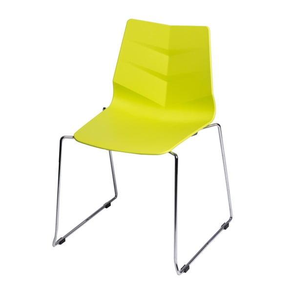 Sada 2 stoličiek D2 Leaf SL, limetkové