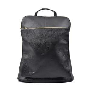 Čierny kožený batoh Isabella Rhea Turo