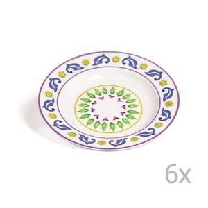 Sada 6 polievkových tanierov Toscana Gimignano, 22.5 cm