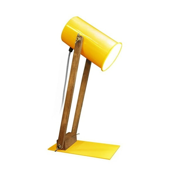 Stolová lampa Baltic Yellow, 45 cm