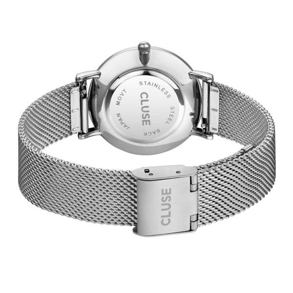Dámske hodinky antikoro v striebornej farbe cluse Minuit