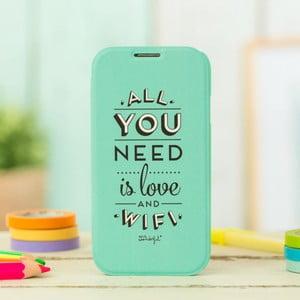 Obal na Samsung Galaxy S4 Mr. Wonderful Love