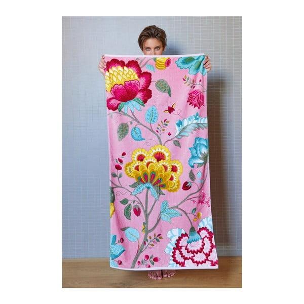 Uterák Floral Fantasy Pink, 55x100 cm