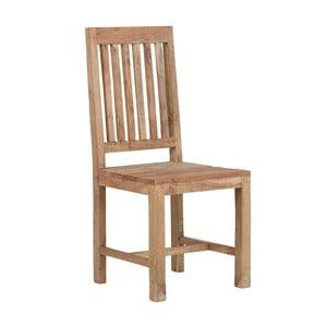 Jedálenská stolička z akáciového dreva SOB Aska