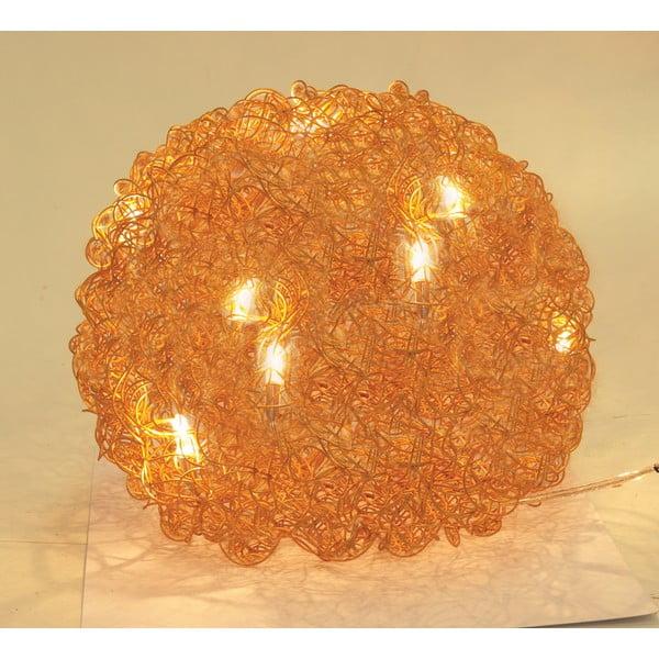 Stolová lampa Alumni 30 cm, zlatá