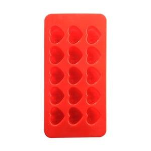 Červená silikonová forma v tvare srdiečok Mason Cash Chocolate