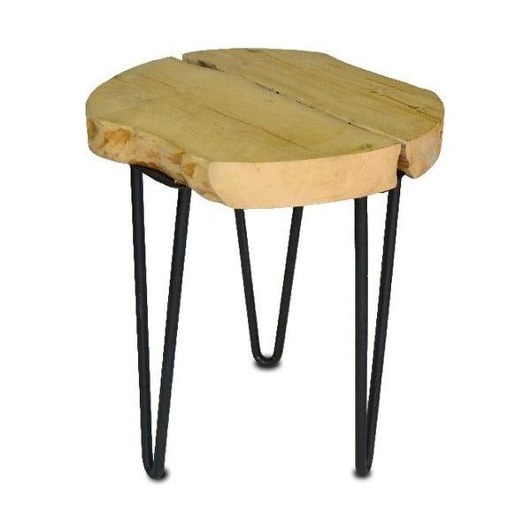 Stolička Round Wooden