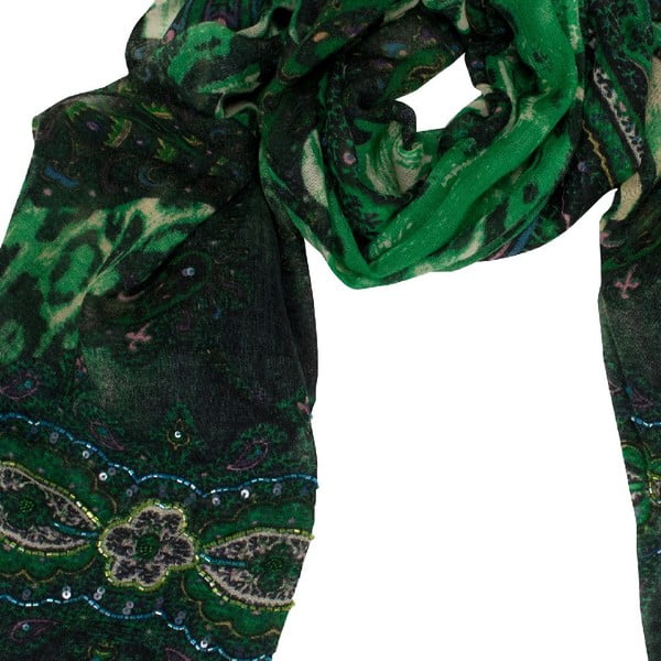 Vlnená šatka Shirin Sehan - Estelle Pine