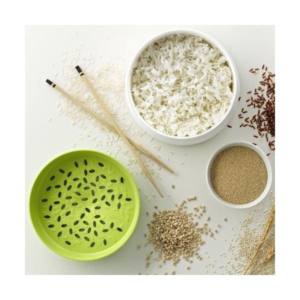 Hrniec na varenie ryže v mikrovlnnej rúre