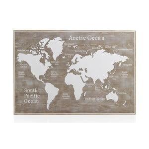 Drevené posteľové čelo Geese Rustico World, 100 × 165 cm