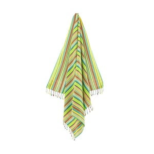 Osuška/pareo Tezzy Green, 100x178 cm