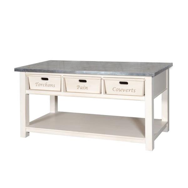 Stôl s košíkmi Plateau