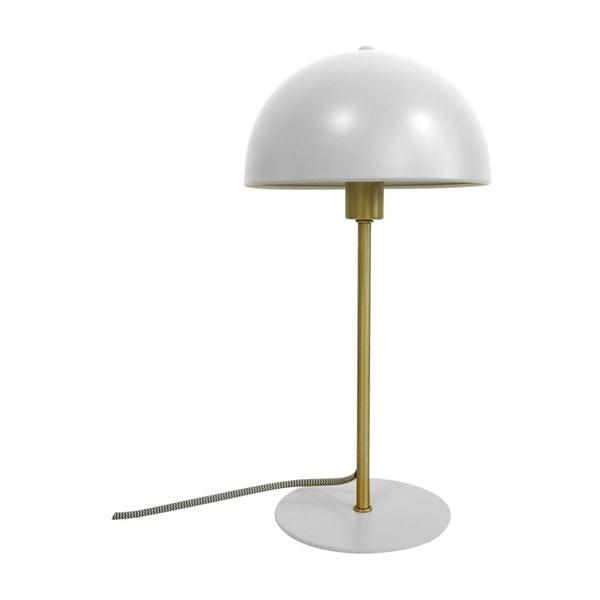 Biela stolová lampa Leitmotiv Bonnet