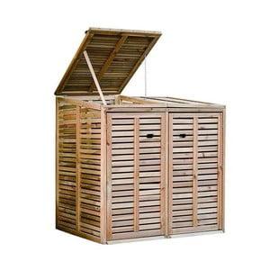 Záhradný box na odpadkový kôš Siesta, 145x87 cm