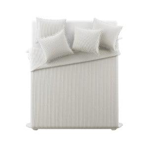 Béžový pléd cez posteľ Slowdeco Bohemian, 170×210 cm