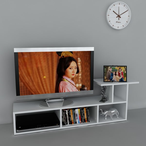 Stolík na televízor Sedrus White, 29,5x140x45,5 cm