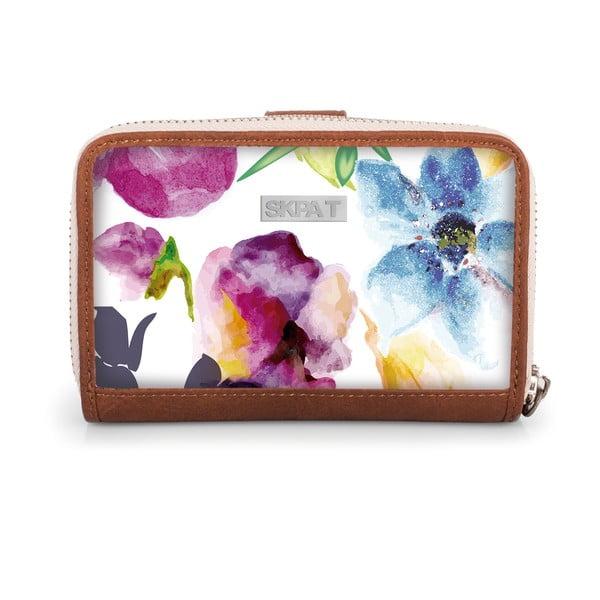 Peňaženka Skpa-T Wallet White, 14x9 cm