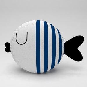 Detský vankúšik OYO Kids Fish With Navy Stripes