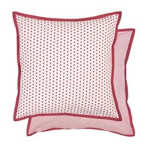 Červená obliečka na vankúš  Clayre & Eef, 40x40 cm