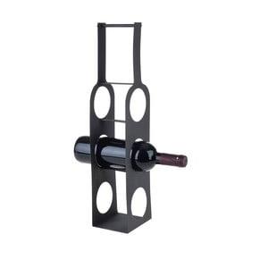 Trojdielny kovový stojan na fľaše vína Bottles