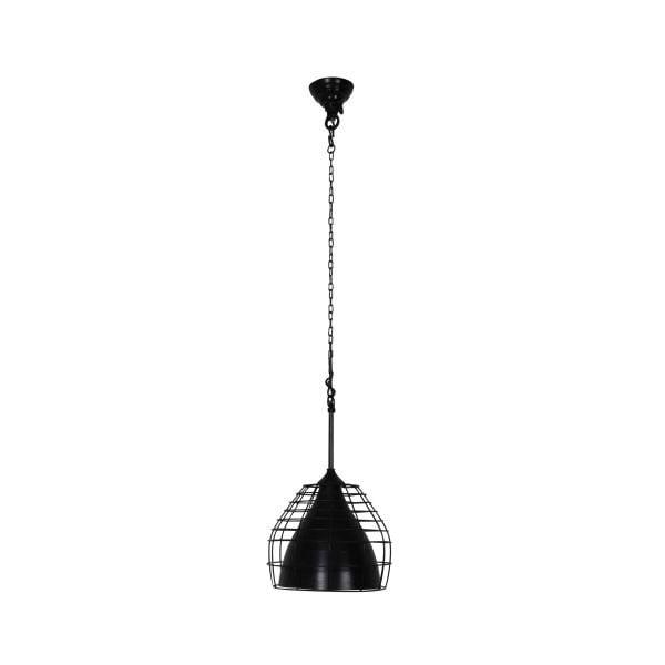 Stropné svetlo Basket Black