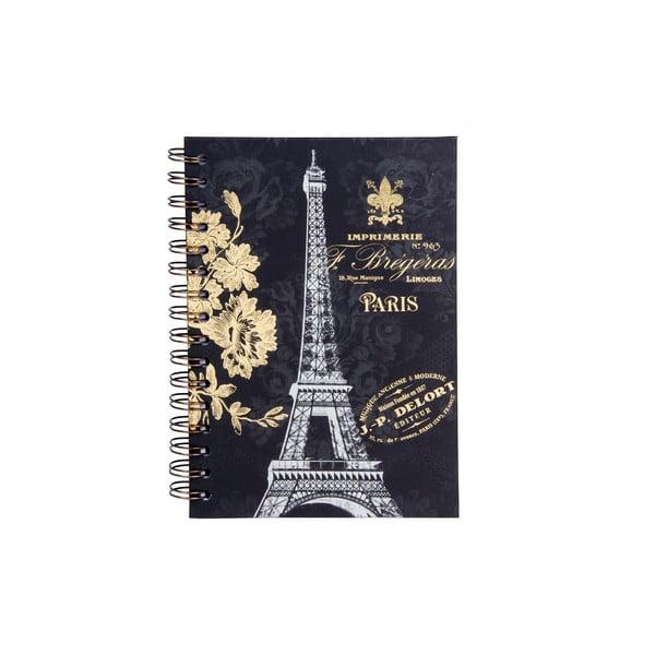 Špirálový zápisník Tri-Coastal Design Paris Dream