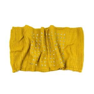 Kruhový šál Mia Yellow