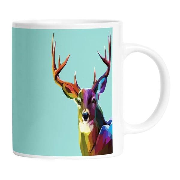 Keramický hrnček Majestic Deer, 330 ml