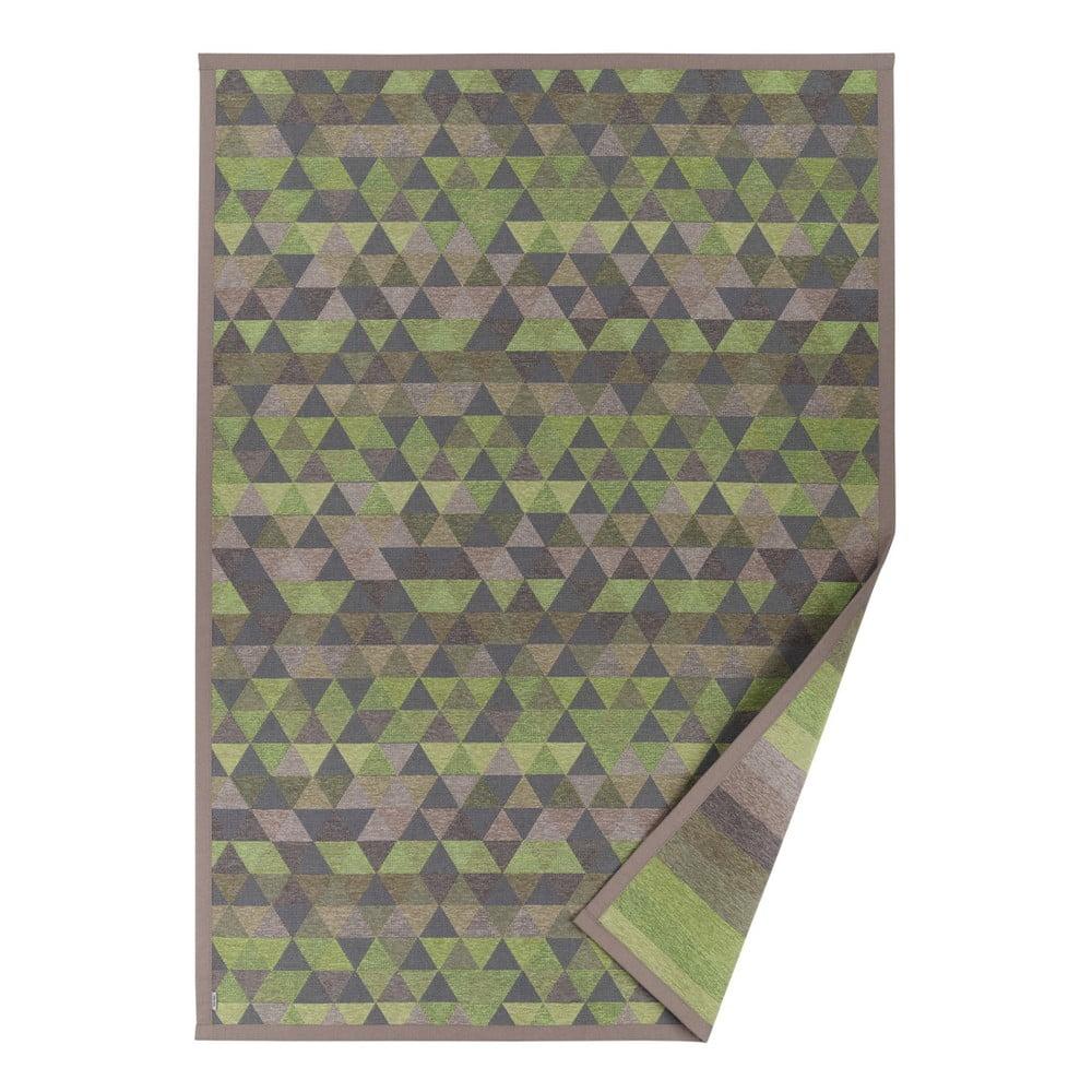 Zelený vzorovaný obojstranný koberec Narma Luke 140 × 200 cm 7d055aa70f